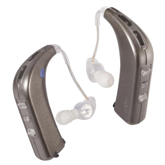 Sound World Solutions White Gold HD100 Sidekick Personal Sound Amplifier - Dual
