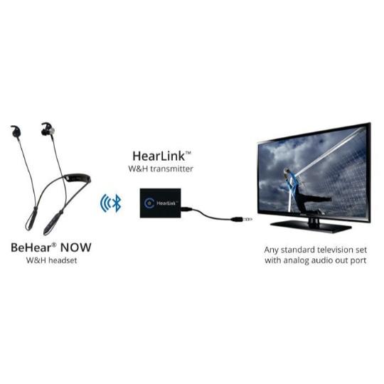 HearLink Assistive Listening Audio / TV Transmitter