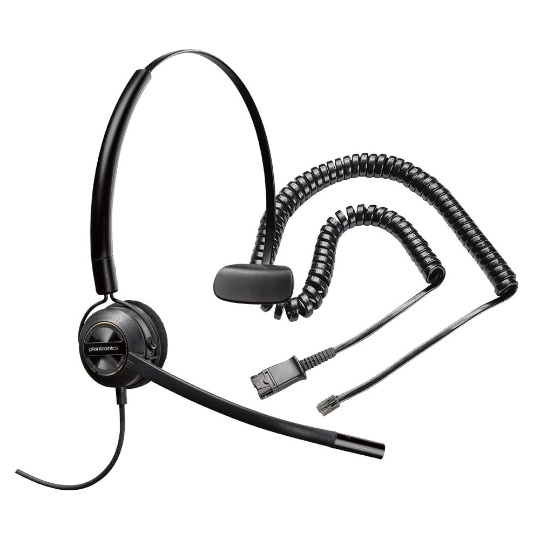 Plantronics EncorePro 540 3-in-1 Headset with RJ9 Adapter