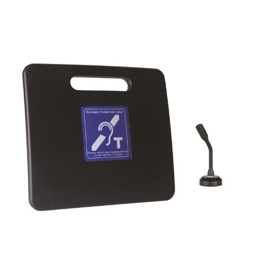 Contacta Portable InfoLoop with Countertop Microphone
