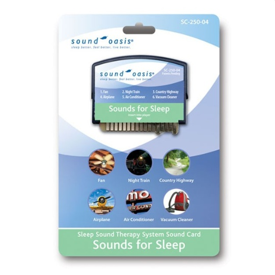 Sounds for Sleep Sound Card for S-550-05 Sound Therapy System