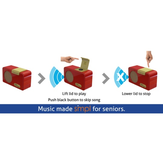 SMPL Technologies Music Player