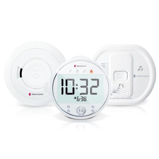 Bellman & Symfon Visit Fire and Carbon Monoxide Safe Value Pack 8