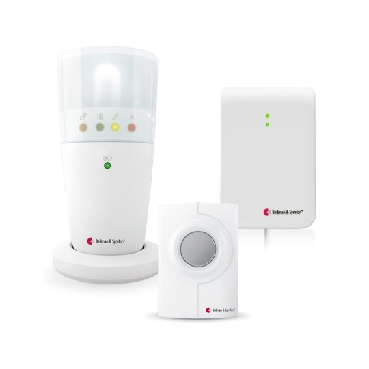 Bellman & Symfon Visit Alerting with Flash Receiver for Phone and Doorbell