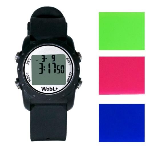 WOBL +  Vibrating Watch - Black