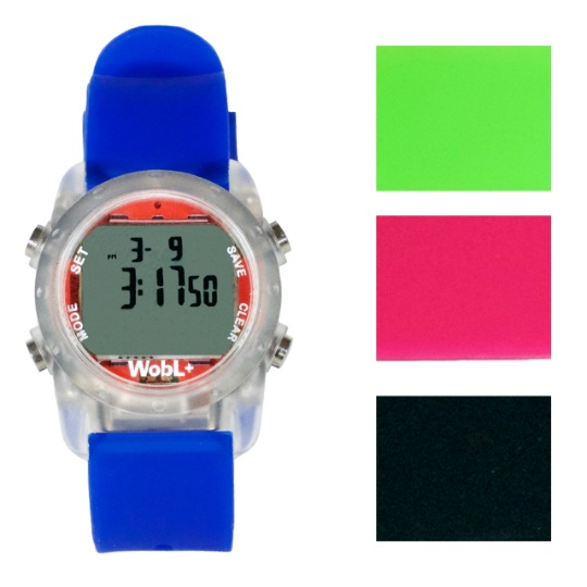 WOBL +  Vibrating Watch - Blue