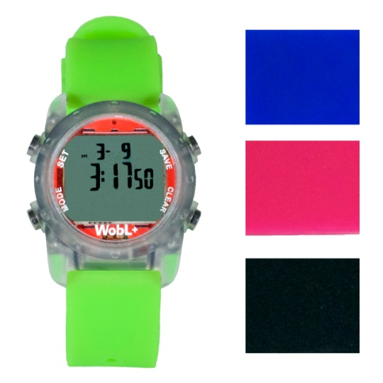 WOBL +  Vibrating Watch - Green