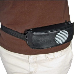 Chattervox Voice Amplifier Leather Waist Pack