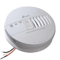 Kidde Lifesaver Hard Wired Carbon Monoxide Alarm with Backup