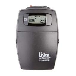 Listen Technologies LR-400 Personal Receiver 72MHz