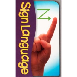 Sign Language Pocket Flash Cards