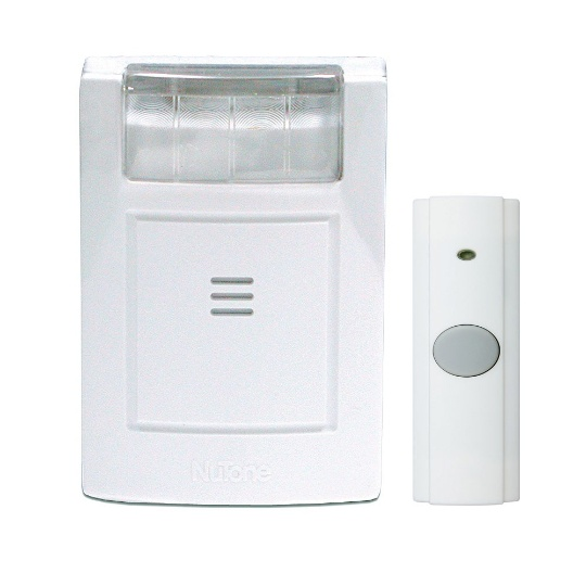 NuTone 224WH Wireless Door Strobe / Chime System