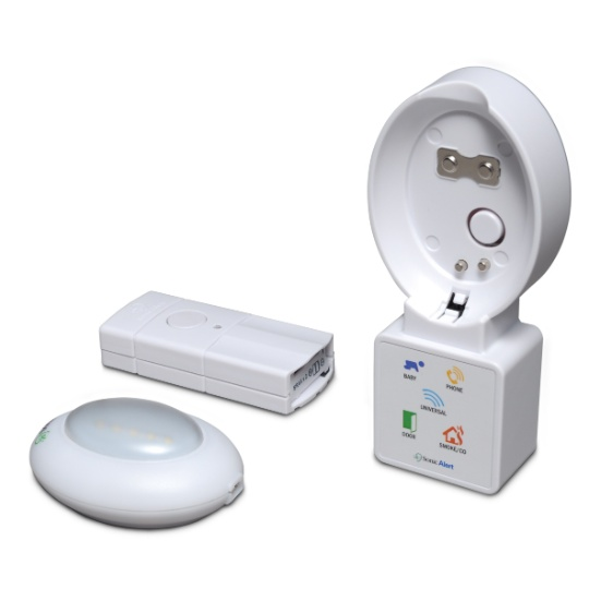 Sonic Alert HomeAware Blink LED Receiver with Doorbell