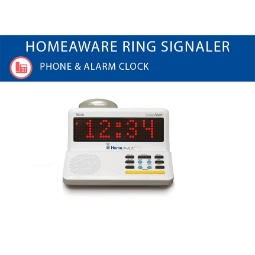Sonic Alert HomeAware Signaling Hub Telephone Ring Signaler and Dual Alarm Clock
