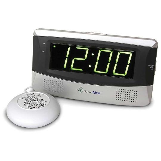 Sonic Alert Sonic Boom SB300ss Vibrating Large Display Alarm Clock