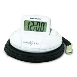 Sonic Alert Sonic Shaker SBP100 Vibrating Travel Alarm Clock