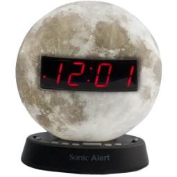 Sonic Glow SBW100MO Moonlight Alarm Clock