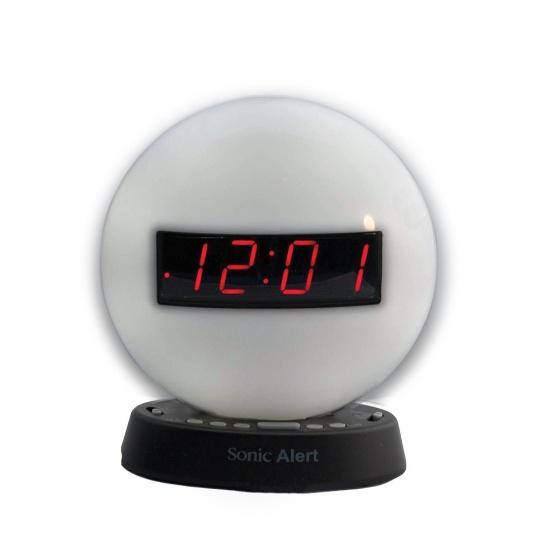 Sonic Glow SBW100NL Nightlight Alarm Clock