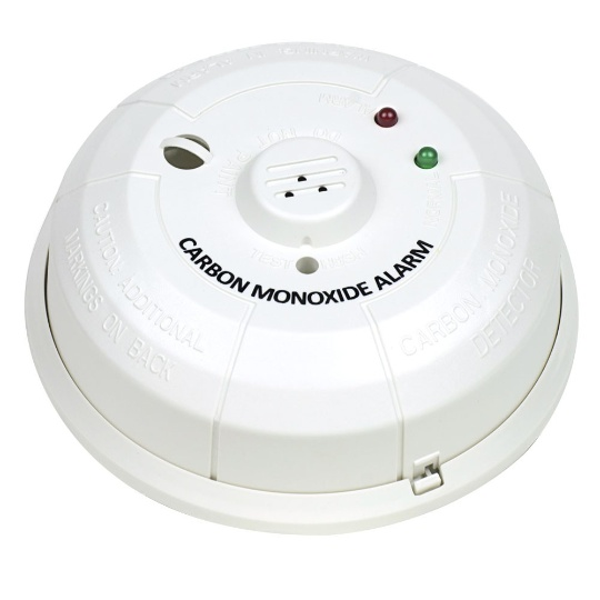 Silent Call Signature Series Battery Operated Carbon Monoxide Detector with Transmitter