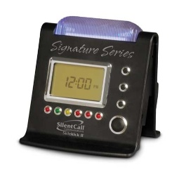 Silent Call Signature Series Sidekick II Strobe Clock Receiver