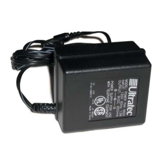 Ultratec TTY Power Supply - Minicom / Supercom / Miniprint / Superprint / Uniphone