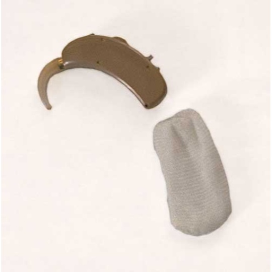 "Hearing Aid Natural Sweatband - 1.75"" Large"