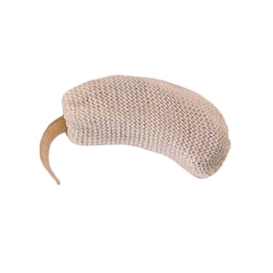 """Hearing Aid Natural Sweatband - 2.125"""" Extra Large"""