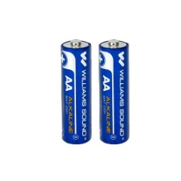 Williams Sound BAT 001 AA Alkaline Batteries 2 Count