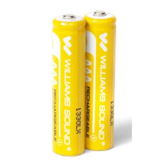 Williams Sound BAT 022 AAA NiMH Rechargeable Batteries 2 Count