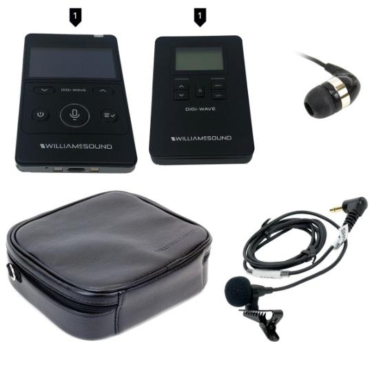 Williams Sound DIGI-WAVE 400 Kit 1 for One Way Communication