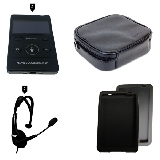 Williams Sound DIGI-WAVE 400 Kit 2 for Two-Way Communication