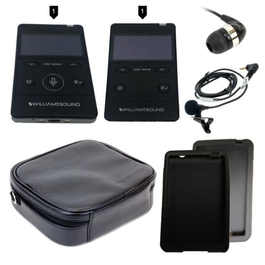 Williams Sound DIGI-WAVE 400 Kit 3 for One Way Communication