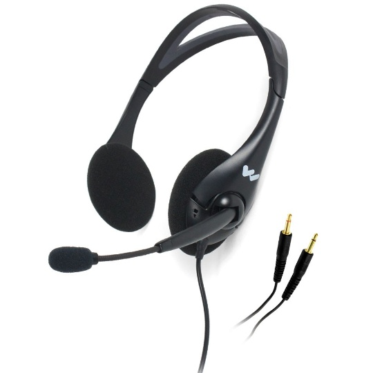 Williams Sound Dual Headset with Noise Cancelling Mic