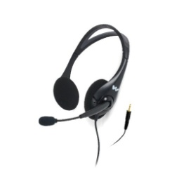 Williams Sound MIC 145 Dual Headset with Noise Cancelling Mic