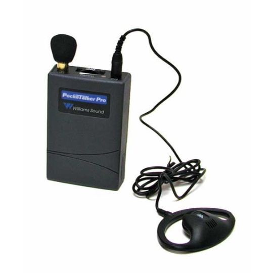 Williams Sound Pocketalker Pro Personal Sound Amplifier with Surround Earphone E22