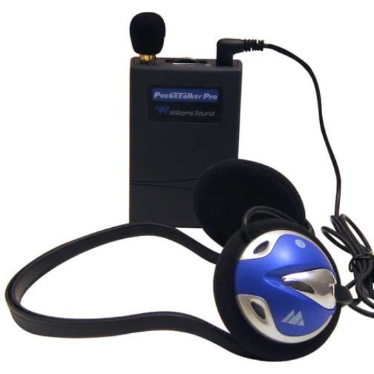 Williams Sound Pocketalker Pro Personal Sound Amplifier with Behind-the-Head Headphone H26