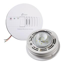 Kidde Lifesaver Hard Wired Carbon Monoxide Alarm with Strobe