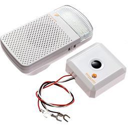 Safeguard Supply Wireless Doorbell Extender & Flash Receiver