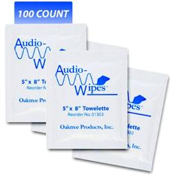 Audiowipes Singles 100 Count