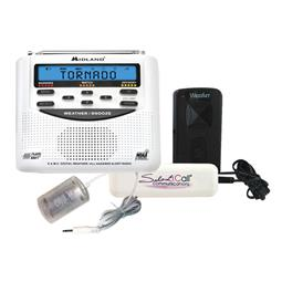 Midland Weather Alert Radio with Silent Call Light and Bed Shaker