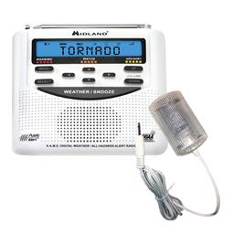 Midland WR120 NOAA Weather Alert Radio & Strobe