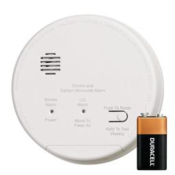 Gentex GN-503F Hard Wired Smoke / Carbon Monoxide Photoelectric Alarm with Backup