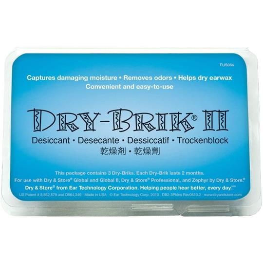 Dry & Store Dry Brik Desiccant 3 Pack