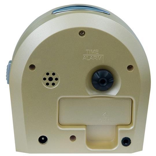 Reizen Braille Quartz Vibrating Alarm Clock