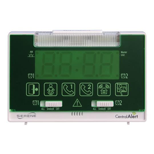 Serene Innovations CentralAlert CA-360 Clock / Receiver Notification System