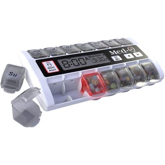 Med-Q White Automatic Pill Dispenser