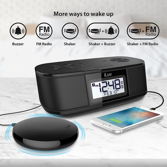 iLuv TimeShaker Super Vibrating Alarm Clock