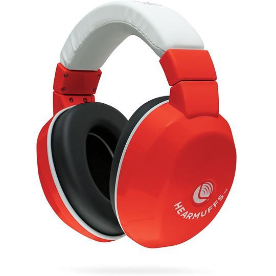 Lucid Audio Kids HearMuffs | Red
