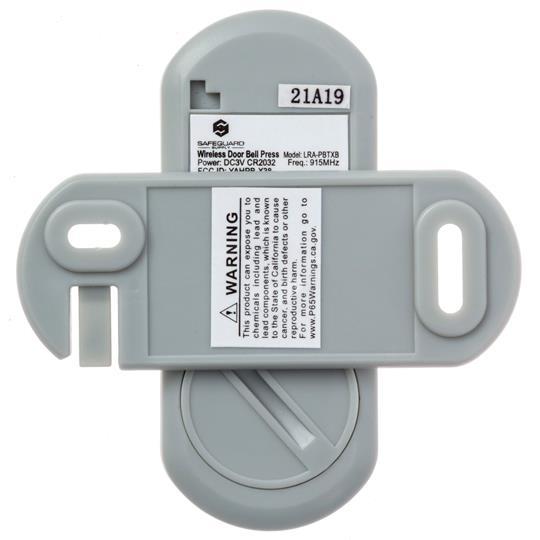 Safeguard Supply Wireless Doorbell + Flashing Strobe Receiver Kit