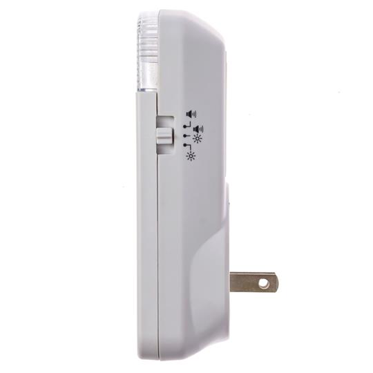 Safeguard Supply Wireless Flashing Strobe & Loud Chime Receiver